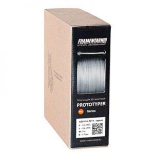 Пластик для 3D принтера Filamentarno! ABS GF-4 светло-серый (0,75 кг.) 1,75 мм