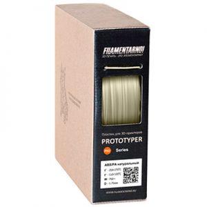 Пластик для 3D принтера Filamentarno! ABS/PA натуральный (0,75 кг.) 1,75 мм
