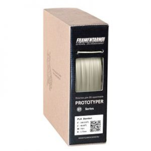 PLA пластик для 3D принтера. Filamentarno! PLA+ белый 1,75 мм Уценка