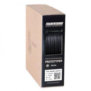 PLA пластик для 3D принтера. Filamentarno! PLA+ черный 1,75 мм Уценка