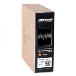 Пластик для 3D принтера Filamentarno! PRO-FLEX чёрный (0,75 кг.) 1,75 мм