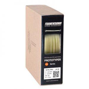 Пластик для 3D принтера Filamentarno! TOTAL GF-30 натуральный (0,75 кг.) 1,75 мм