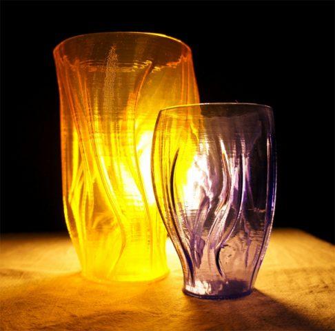 Prototyper T-SOFT эффект стеклянного изделия