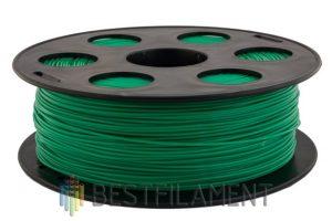 PETG пластик для 3D принтера Bestfilament зеленый 1 кг (1,75 мм)