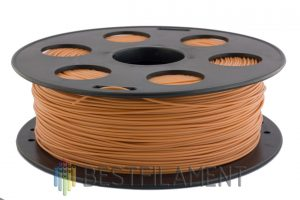 PETG пластик для 3D принтера Bestfilament коричневый 1 кг (1,75 мм)