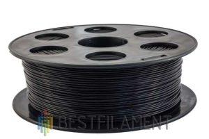 PETG пластик для 3D принтера Bestfilament Черный 1 кг (1,75 мм)