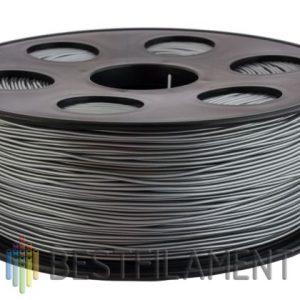 PETG пластик для 3D принтера Bestfilament серебристый металлик 1 кг (1,75 мм)