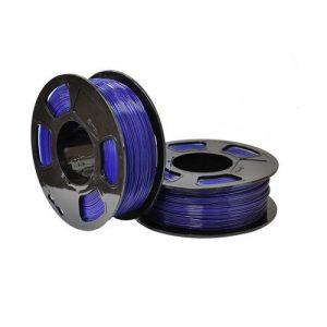PETG пластик для 3D принтера U3Print GF PETG SAPPHIRE TRANSPARENT (Сапфир светопропускающий) 1кг 1,75 мм