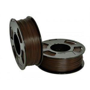 PLA пластик для 3D принтера U3Print GF PLA ARABICA (Коричневый) 1кг 1,75 мм