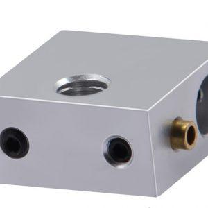 Нагревательный блок MK7 / MK8 c латунным патрубком