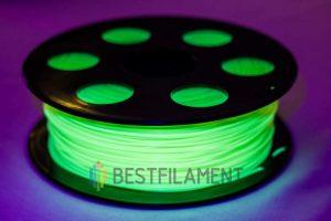PETG пластик для 3D принтера Bestfilament Флуоресцентный желтый 1 кг (1,75 мм)