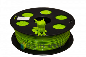 PETG пластик для 3D принтера Bestfilament лайм 1 кг (1,75 мм)