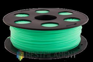 PLA пластик для 3D принтера Bestfilament салатовый 1 кг (1,75 мм)