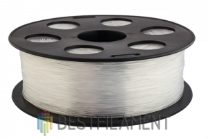 PETG пластик для 3D принтера Bestfilament натуральный 1 кг (1,75 мм)