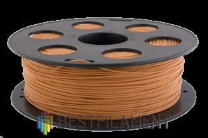 PLA пластик для 3D принтера Bestfilament коричневый 1 кг (1,75 мм)