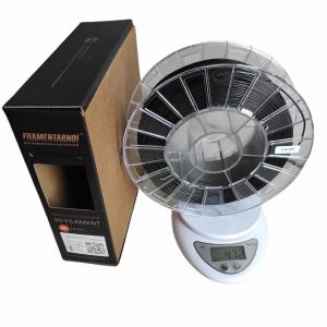 Пластик для 3D принтера Filamentarno! ABS GF-4 черный 1,75 мм Уценка