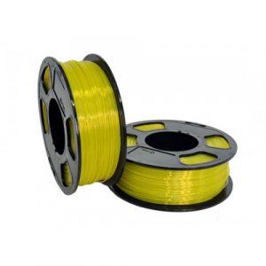 PETG пластик для 3D принтера U3Print GF PETG SUN SHINE TRANSPARENT (Солнечный прозрачный) 1кг 1,75 мм
