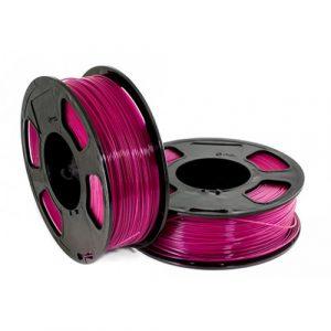 PETG пластик для 3D принтера U3Print GF RASPBERRY (Малиновый светопропускающий) 1кг 1,75 мм
