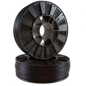 PLA пластик для 3D принтера SEM черный  0.8 кг (1,75 мм)