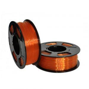 PETG пластик для 3D принтера U3Print GF PETG AMBER TRANSPARENT (Янтарь прозрачный) 1кг 1,75 мм