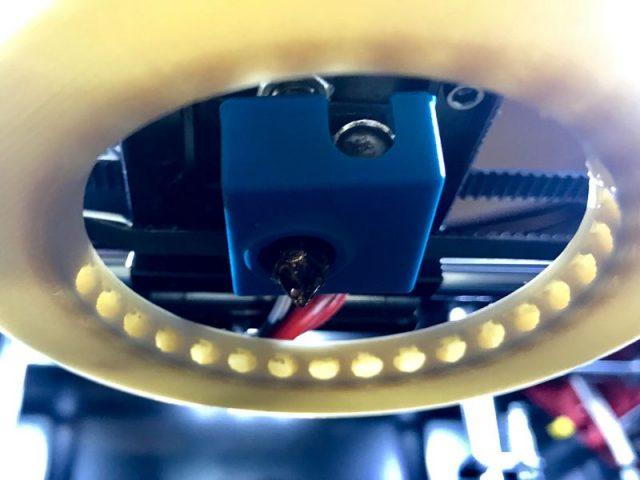 Силиконовый носок для нагревательного блока MK7/MK8/MK9 (синий)